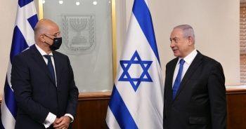 Yunanistan Dışişleri Bakanı Dendias, Netanyahu ile görüştü