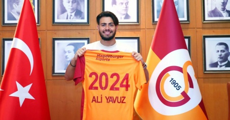 Galatasaraylı Ali Yavuz Kol'dan imza sonrası ilk açıklama