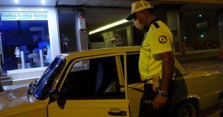 Alkollü sürücü huzur uygulamasına takıldı