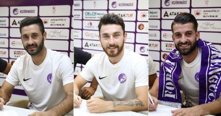 Ankara Keçiörengücü 3 futbolcuyu kadrosuna kattı
