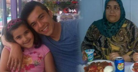Anne, oğlu ve kızı aynı kazada öldü