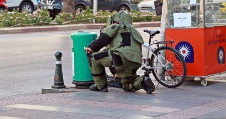 Antalya'da şüpheli çanta paniği