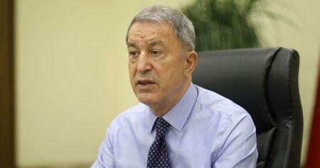 Bakan Akar: Doğu Akdeniz'deki hak, alaka ve menfaatlerin korunması için gerekli tüm tedbirlerin alındı