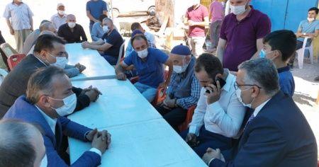 Bakan Soylu'dan yangında 2 çocuğunu ve babasını kaybeden vatandaşa telefon