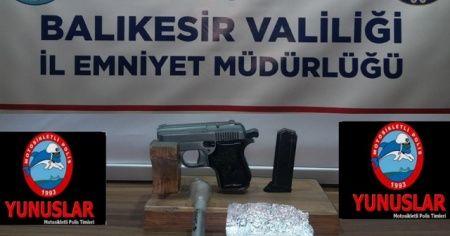 Balıkesir'de polis son 1 ayda 19 silah yakaladı