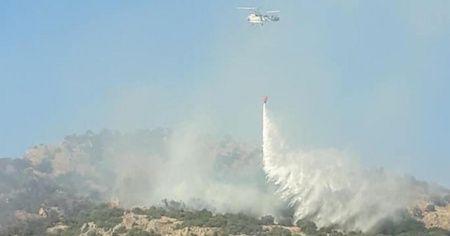 Balıkesir'deki orman yangını söndürüldü