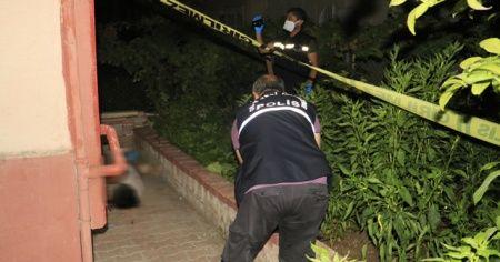 Balkondan aşağı düşen yaşlı kadın öldü