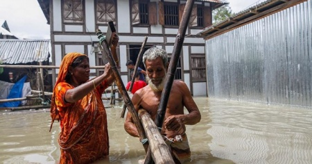 Bangladeş'teki sellerde ölü sayısı 198'e yükseldi