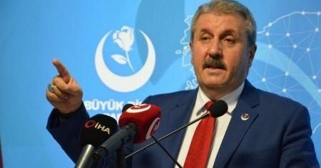 """BBP Genel Başkanı Destici: Türkiye son dönemde sınırlarımız dışında hak ve menfaatlerimizi korumak için çok güçlü adımlar attı operasyonlar gerçekleştirdi"""""""