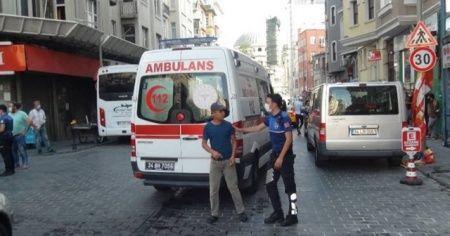 Beyoğlu'nda kardeşini tinerle yaktığı iddia edilen şüpheli gözaltına alındı