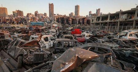 Beyrut'taki patlamada can kaybı 171'e yükseldi