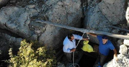 Buz mağaraları köylülerin asırlardır kullandıkları doğal buzdolabı oldu