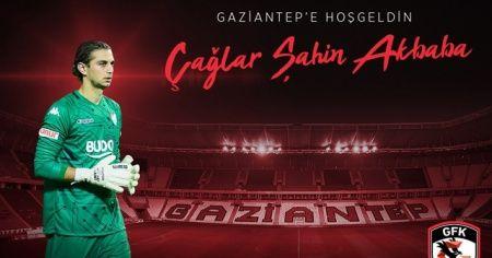 Çağlar Şahin Akbaba Gaziantep FK'da