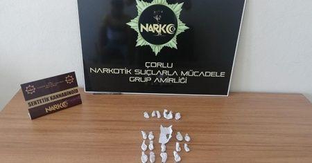 Çorlu'da uyuşturucu operasyonu 5 gözaltı
