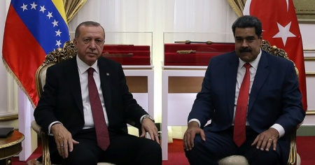Cumhurbaşkanı Erdoğan, Nicolas Maduro ile görüştü
