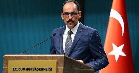 "Cumhurbaşkanlığı Sözcüsü Kalın'dan ""İsrail-BAE anlaşması""na tepki"