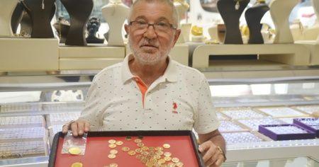 Darphane talebe yetişemiyor, kuyumcularda altın kalmadı