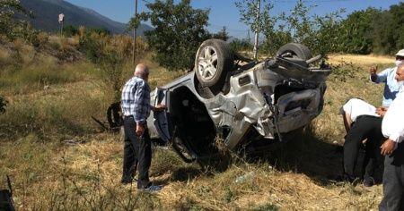 Denizli'de feci kaza: Anne öldü, eşi ve 2 çocuğu yaralandı