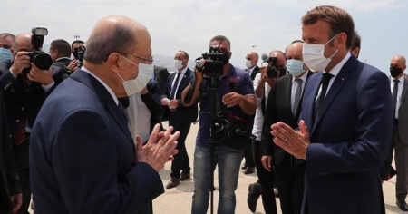Fransa Cumhurbaşkanı: Lübnan'a koşulsuz yardım öncelikli olmalı