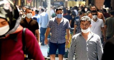 Gaziantep'teki insan yoğunluğu ürkütüyor