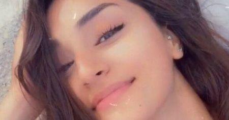 Genç kızın ölmeden önceki görüntüleri ortaya çıktı
