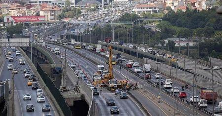 Haliç Köprüsü'ndeki bakım çalışmalarının ikinci etabı başladı