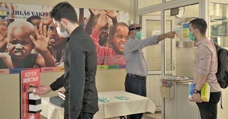 İhlas Vakfı Yurtları Covid 19 tedbirlerini aldı öğrencilerini bekliyor