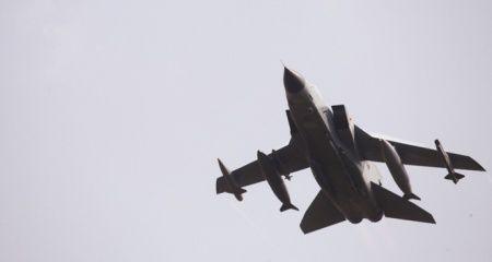 İsrail savaş uçakları Suriye'ye saldırı