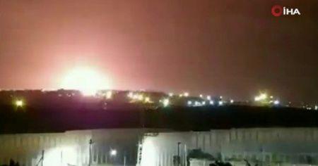 İsrail savaş uçaklarından Gazze'ye hava saldırısı: 3 yaralı