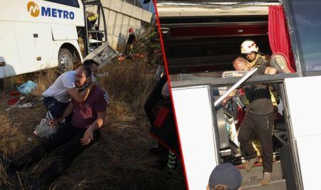 İstanbul'da yolcu otobüsü kaza yaptı, çok sayıda ölü ve yaralı var