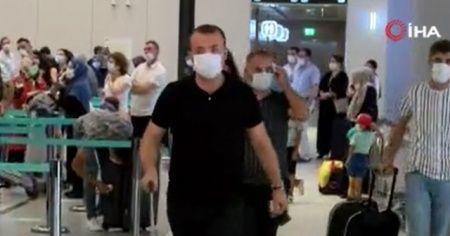 İstanbul Havalimanı'nda dönüş yoğunluğu başladı