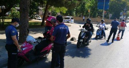 Kadıköy'de hava destekli motosiklet denetimi gerçekleştirildi