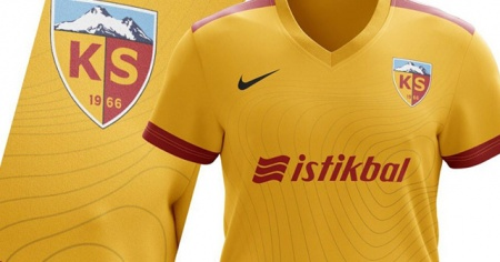 Kayserispor'un yeni forması belli oldu