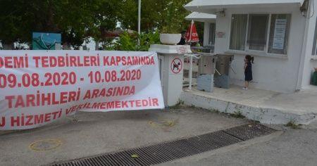 Kovid-19 tesis kapattırdı