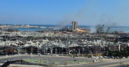 Lübnan Cumhurbaşkanı Avn: 'Patlamanın yol açtığı maddi hasarın 15 milyar doları aştığı tahmin ediliyor'
