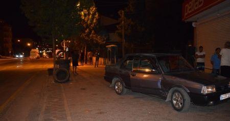 Malatya'da seyir halindeki otomobile silahlı saldırı: 1 yaralı