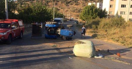 Milas'ta traktör kazası: 1 kişi hayatını kaybetti
