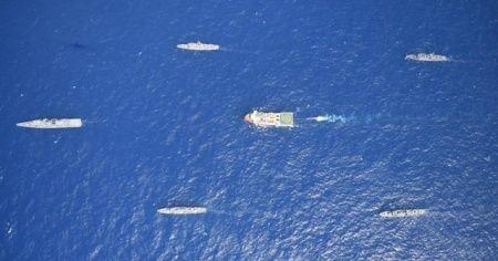 MSB: Oruç Reis gemisini Türk Deniz Kuvvetleri koruyor