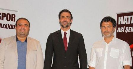 Ömer Erdoğan Hatayspor teknik direktörü oldu