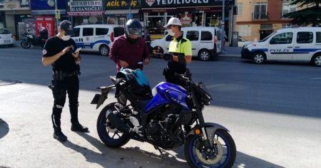 Polis hatalı sürücüleri affetmedi
