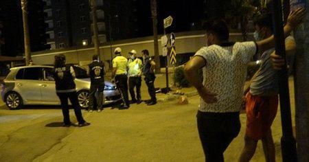 Polis kural ihlallerini affetmedi, vatandaş film gibi uygulama izledi