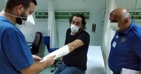 Polis memuru kovalamada düşerek yaralanmasına rağmen uyuşturucu şüphelisini yakaladı