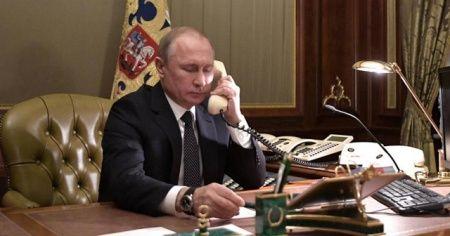 Putin'den, seçimin galibi Lukaşenko'ya tebrik