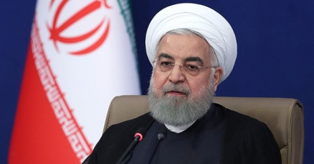 Ruhani'den Lübnan'a taziye mesajı