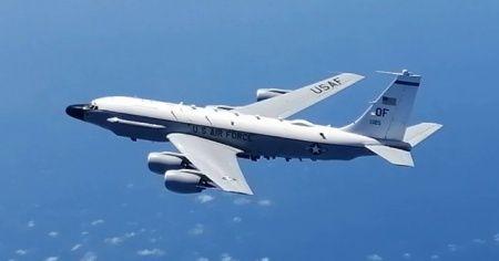 Rus savaş uçağı Karadeniz üzerindeki ABD uçağını uzaklaştırdı