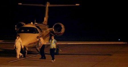 Rusya'daki Kovid-19 hastası Türkiye'ye getirildi