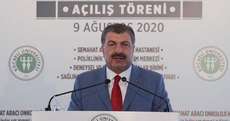 Sağlık Bakanı Fahrettin Koca'dan çok kritik koronavirüs uyarısı
