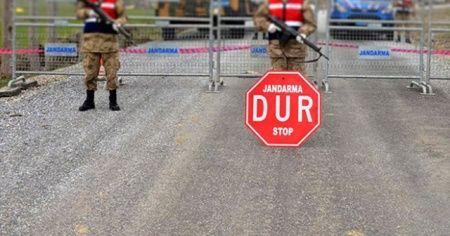 Sahabiye'de 104 ev karantinaya alındı