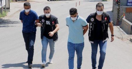 Şampuan kutusunda uyuşturucu saklayan 2 kişi tutuklandı