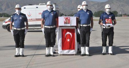 Şehit polislerimiz memleketlerine uğurlandı